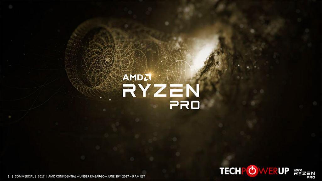 AMD Ryzen PRO 1