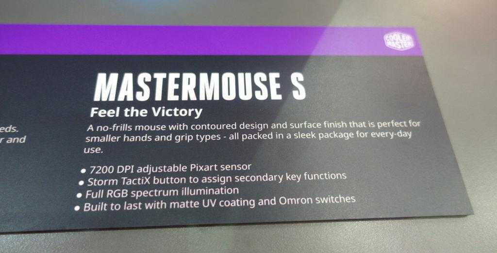 Cooler Master Mastermouse S 2
