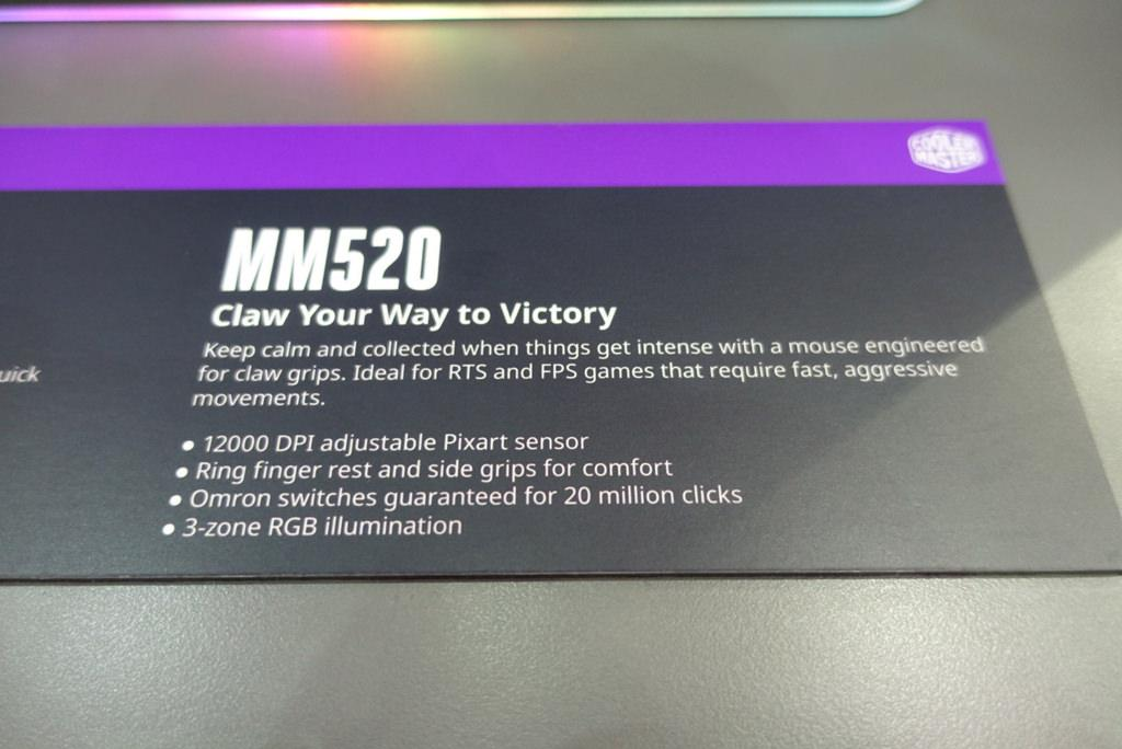 CoolerMaster Mastermouse MM 520 2