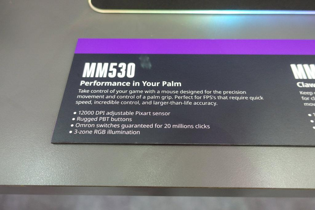 CoolerMaster Mastermouse MM 530 2