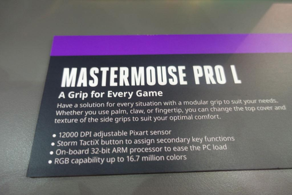 CoolerMaster Mastermouse Pro L 2