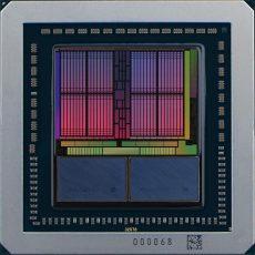 Качественное фото графического процессора AMD Vega