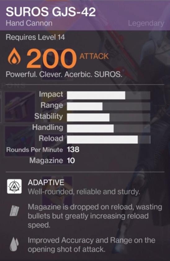 destiny2 weapon perks 2