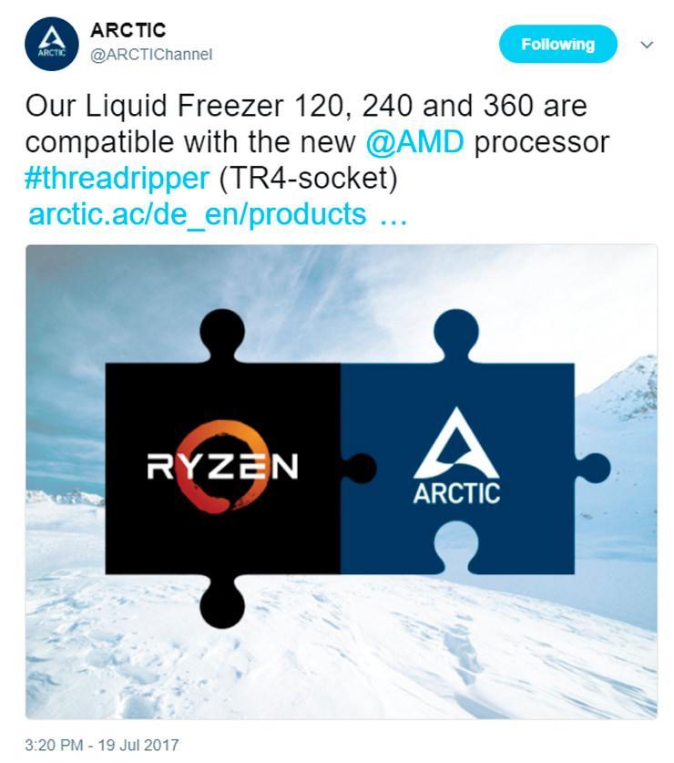 ARCTIC Threadripper Cooling 1
