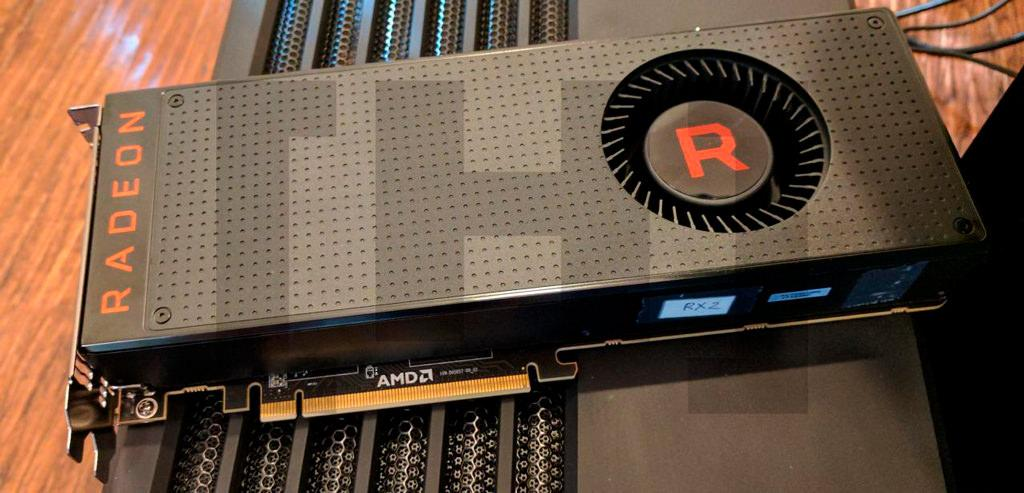 AMD Radeon RX Vega reference card