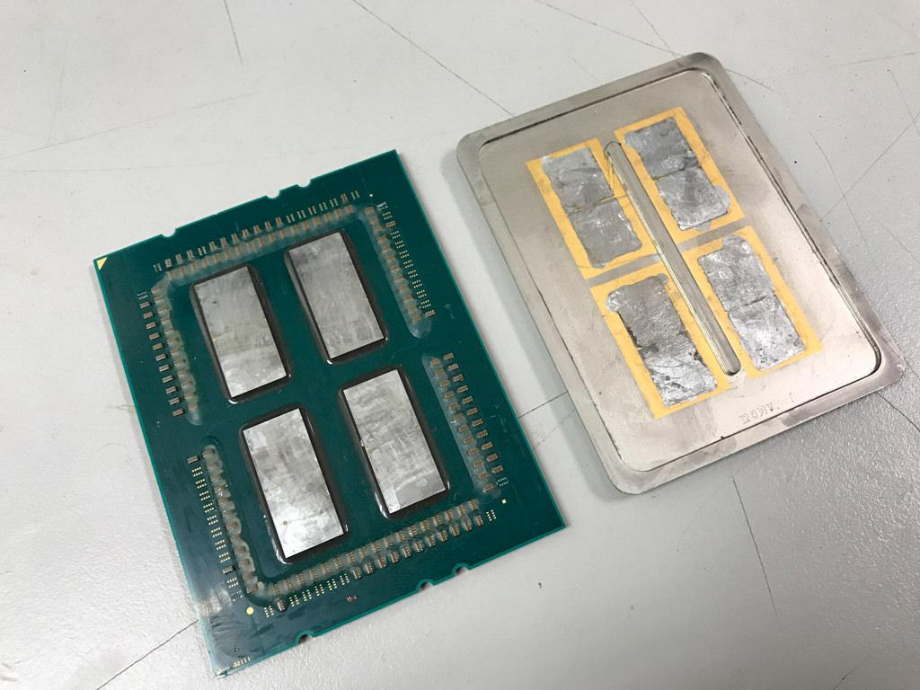 Threadripper Delidded this EPYC 3