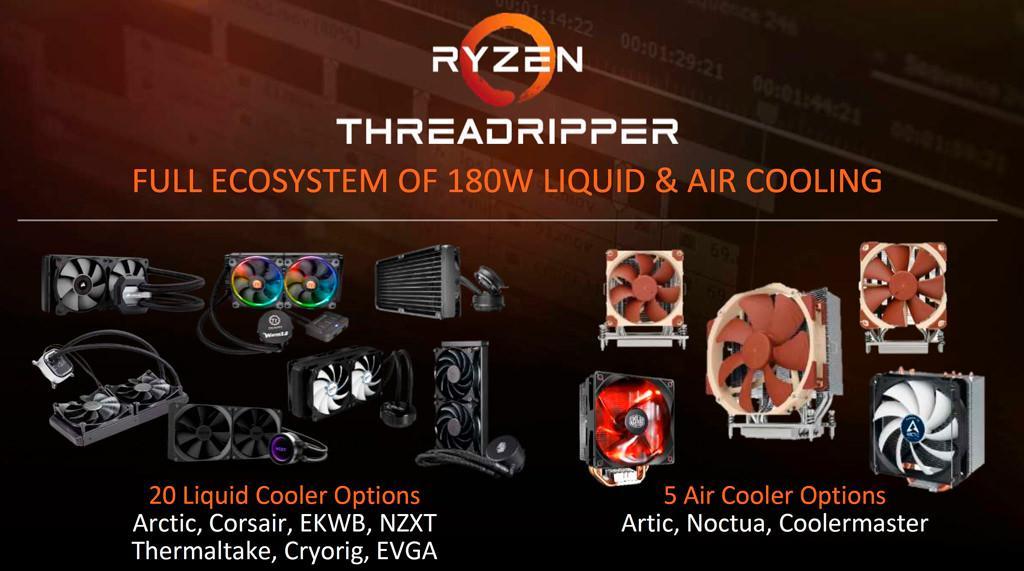 AMD Ryzen Threadripper Lineup 5