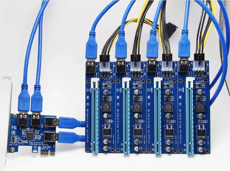 Biostar USB Mining card 3