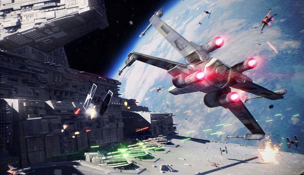 Компания EA продемонстрирует космические бои Star Wars Battlefront 2 позже в этом месяце