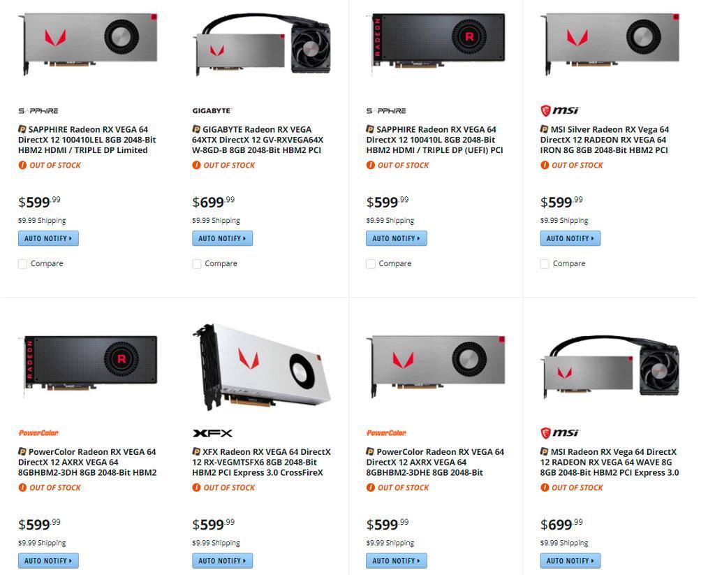 Vega price 1