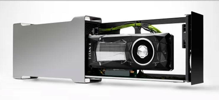 NVIDIA Titan XP eGPU 2