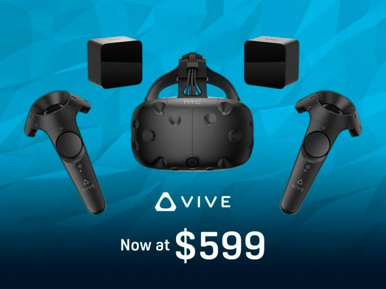 HTC Vive Price drop