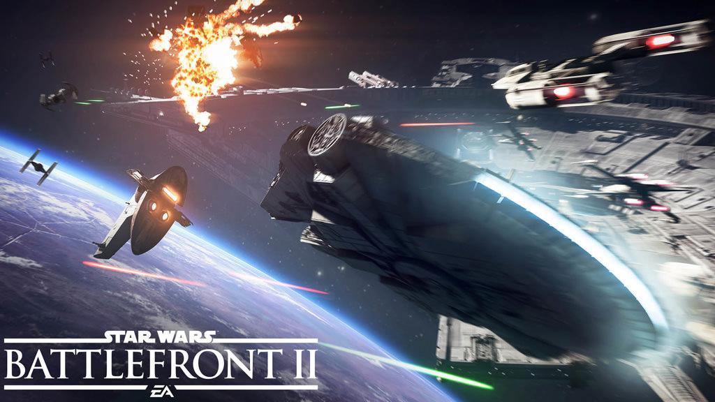 Electronic Arts опубликовала геймплей-трейлер космических боёв Star Wars Battlefront 2