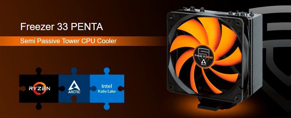 Arctic Cooling Freezer 33 Penta 1