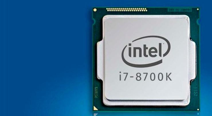Очередная утечка касательно производительности Intel Core i7-8700K