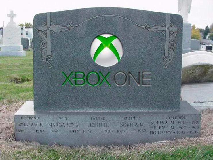 Xbox One уходит на покой