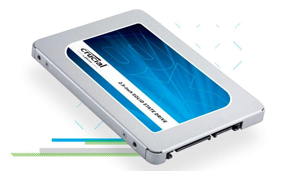 Crucial выпускает серию бюджетных твердотельных накопителей BX300 на MLC-памяти