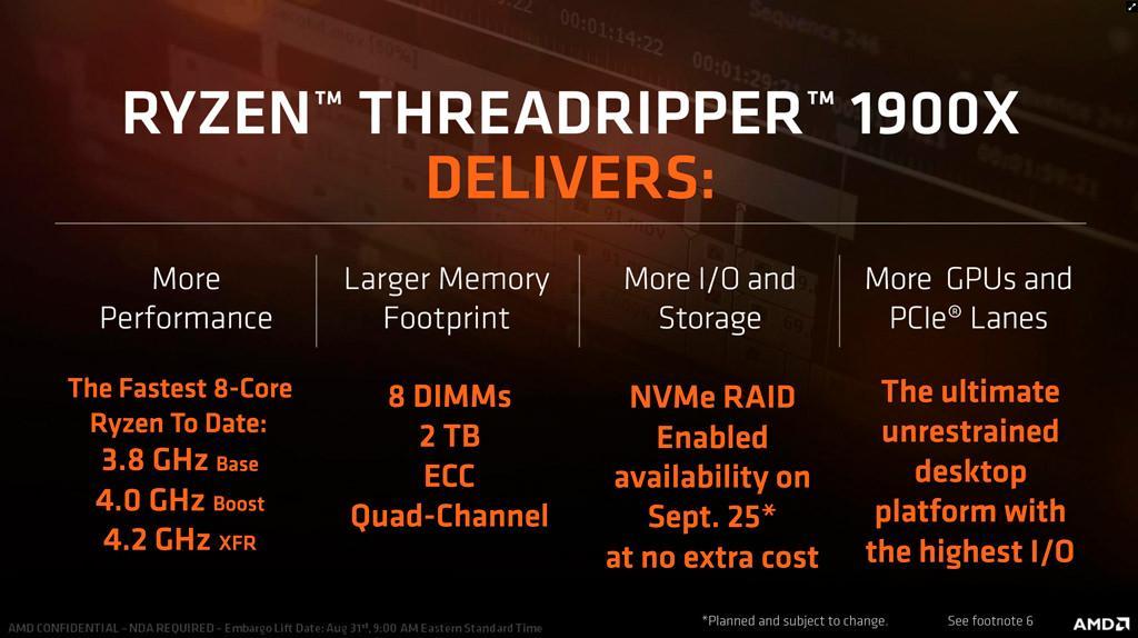 AMD Ryzen Threadripper 1900X 2