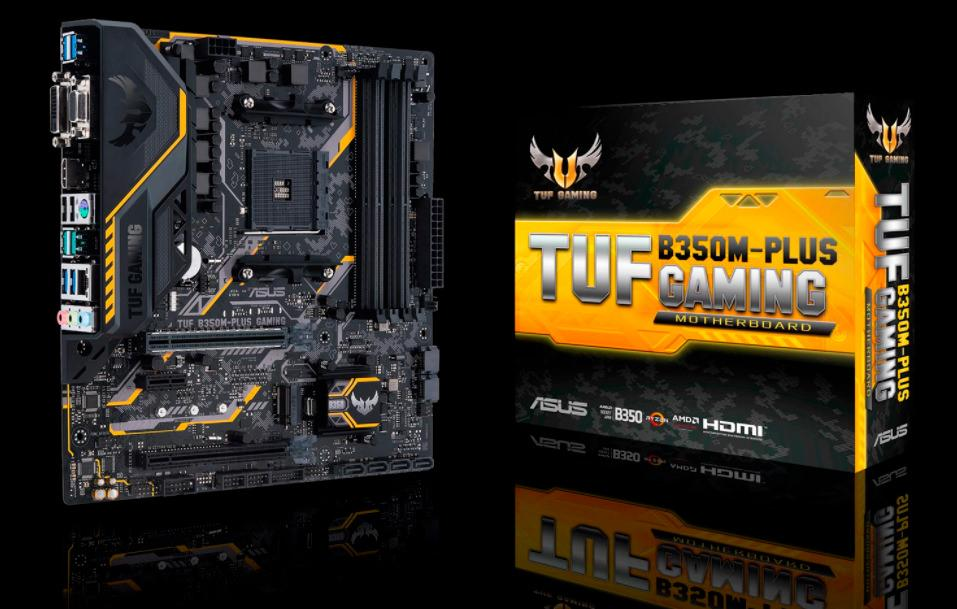 ASUS TUF B350M Plus Gaming 1