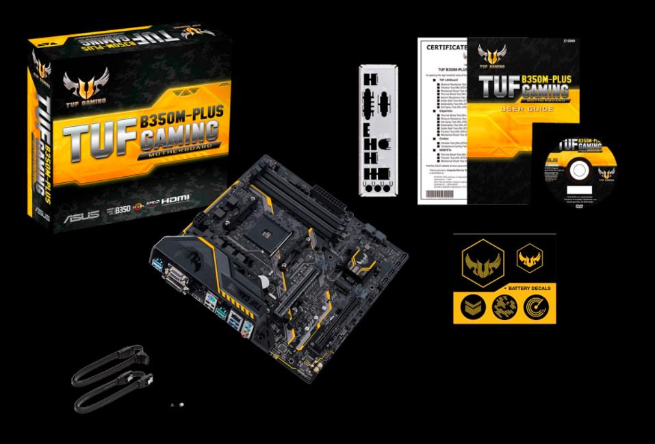 ASUS TUF B350M Plus Gaming 2