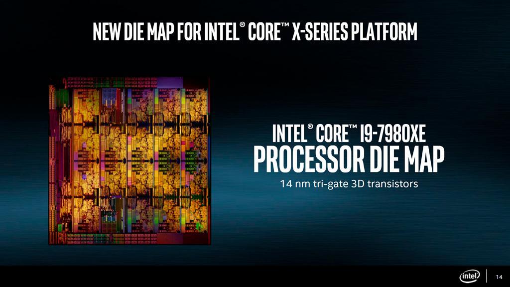18-ядерный Intel Core i9-7980XE выйдет в октябре
