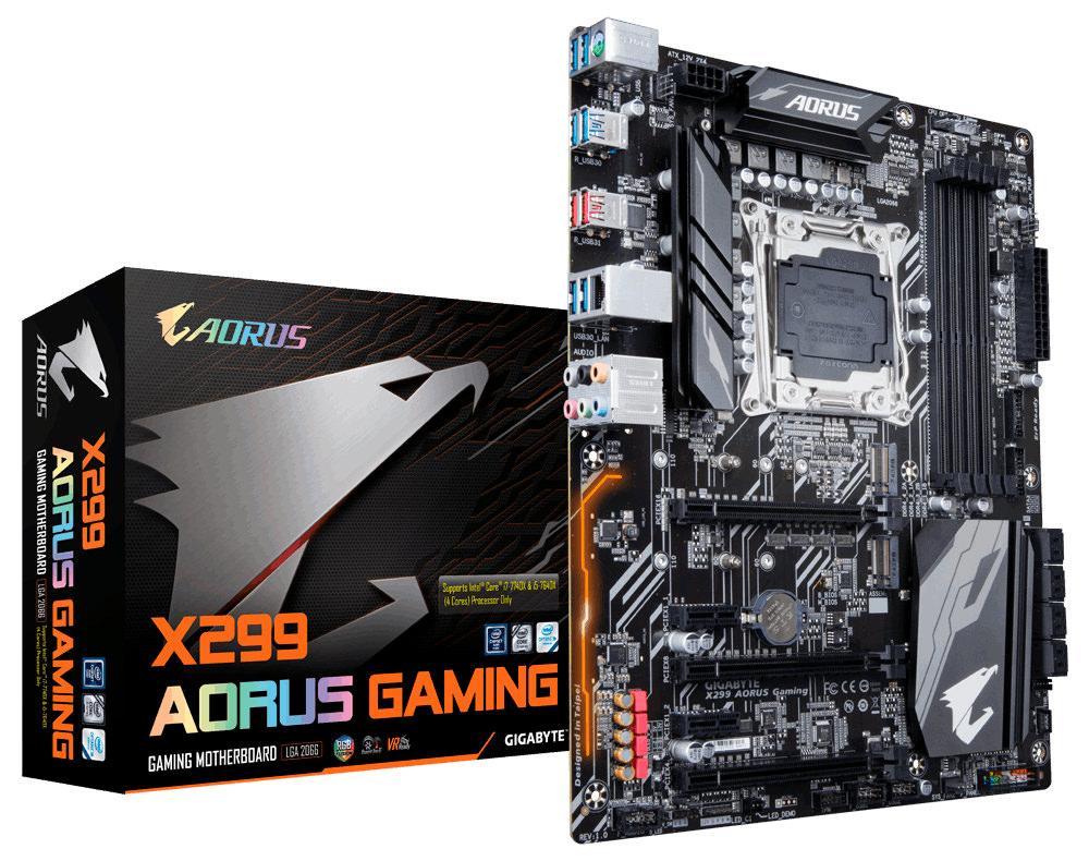 Gigabyte Aorus X299 Gaming 1
