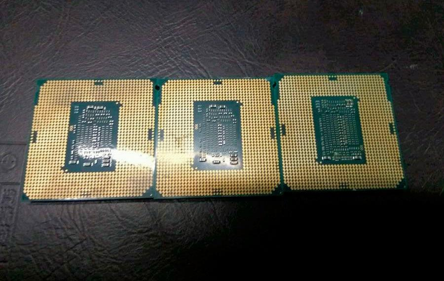 Intel Coffe Lake i3 8350K i3 8100 i7 8700K 3