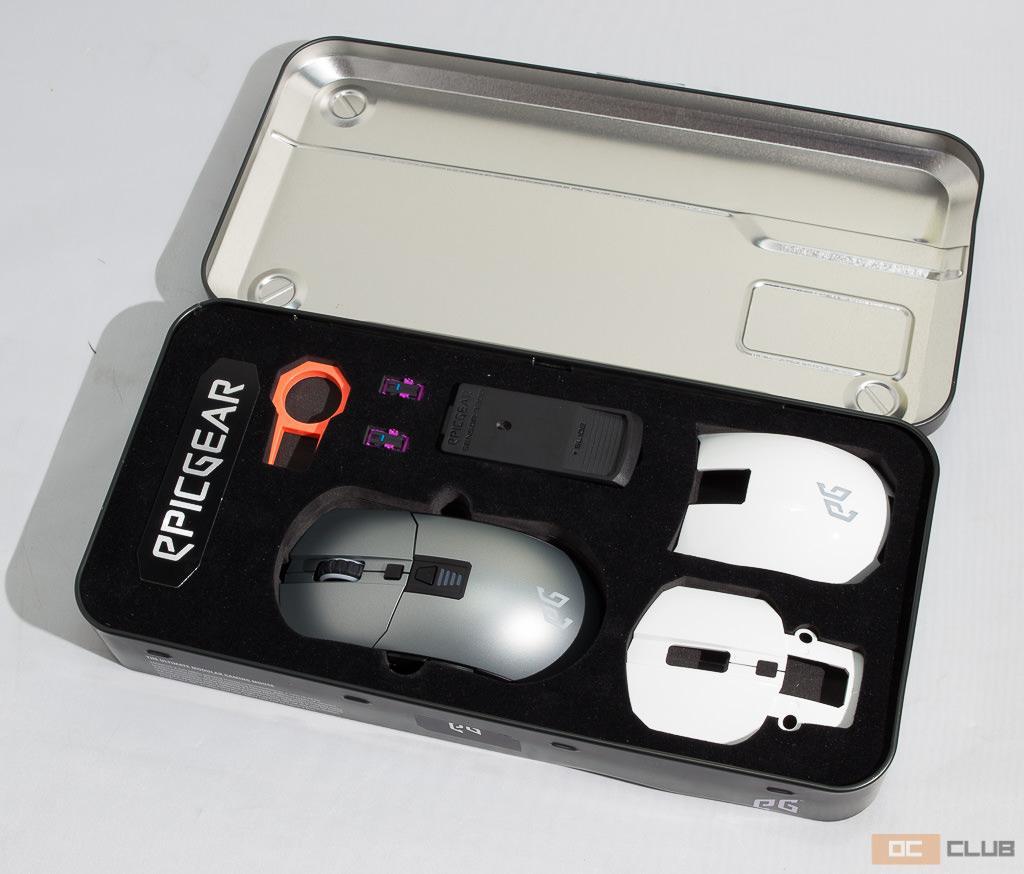 Обзор мыши EpicGear MorphaX. Для тех, кто не может выбрать между лазерным и оптическим сенсором