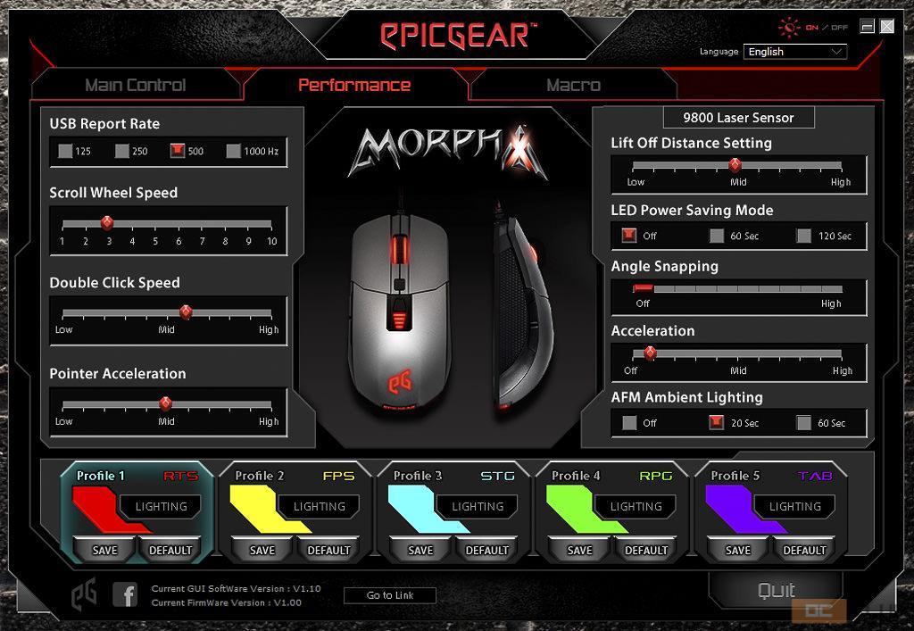 epicgear morpha x 23