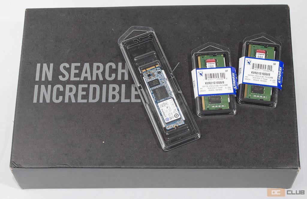 Что поставить в мини-ПК? Обзор SO-DIMM памяти Kingston ValueRAM и M.2-накопителя SSDNow M.2 G2 на 240 ГБ