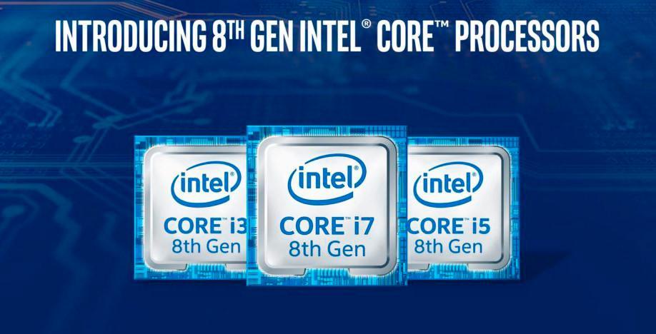 В первую волную процессоров Coffee Lake войдут также Core i3