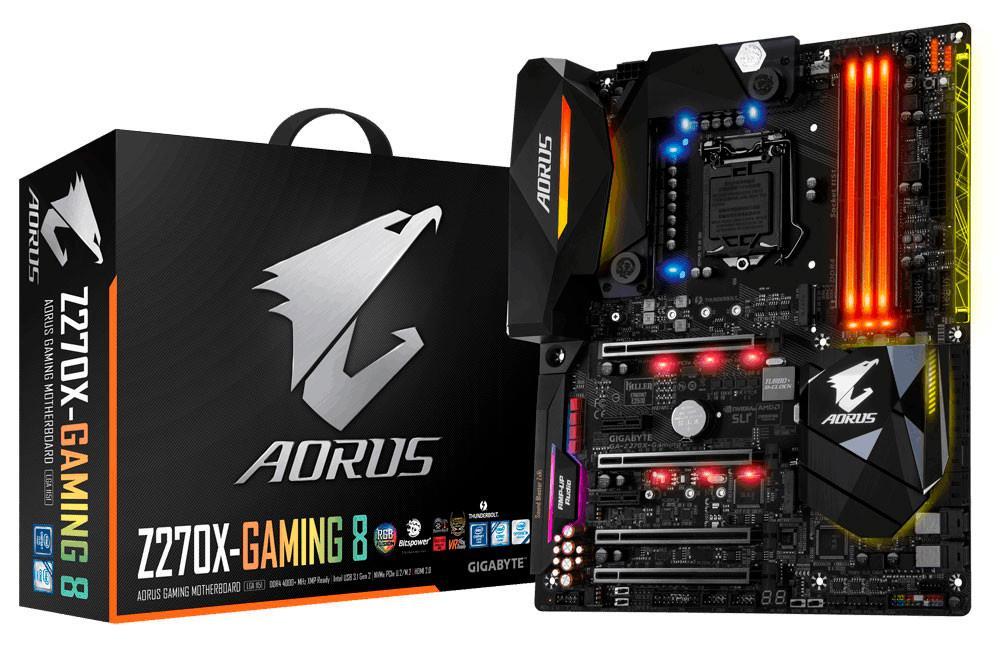 Gigabyte Aorus Z270X Gaming 8 1