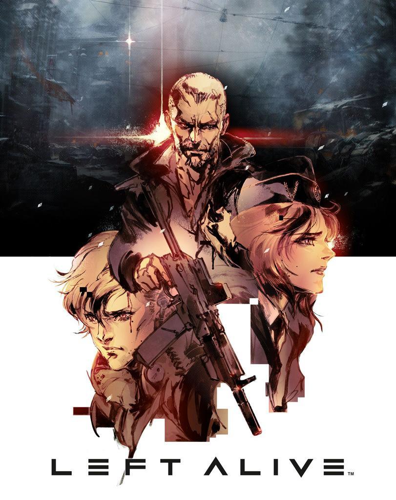 Square Enix анонсировала новый шутер Left Alive