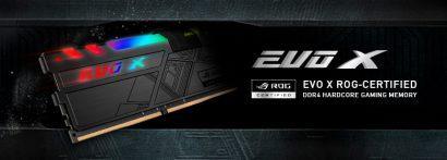 GeIL выпустила комплекты «оперативки» EVO X ROG-Certified RGB