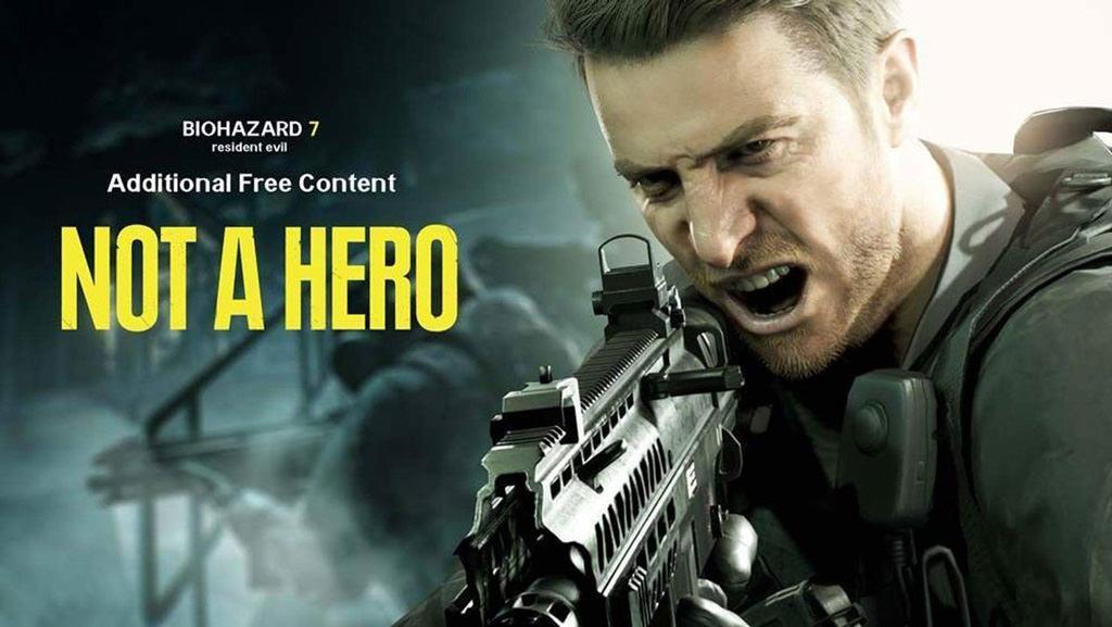 Опубликован трейлер геймплея Not A Hero, бесплатного дополнения для Resident Evil 7