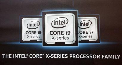 Intel выпустила три старших процессора Core-X в продажу + 18-ядерный Core i9-7980X разогнан до 6,1 ГГц