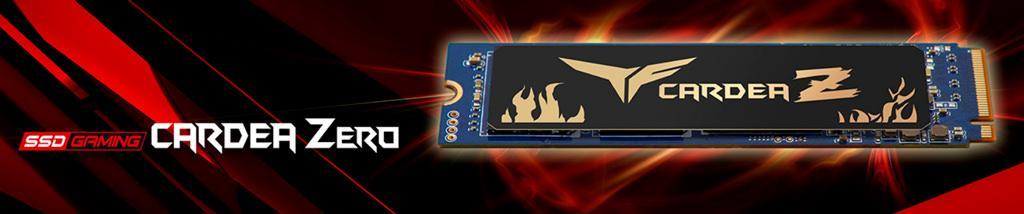 Team Cardea Zero – NVMe SSD-накопители с особой технологией охлаждения