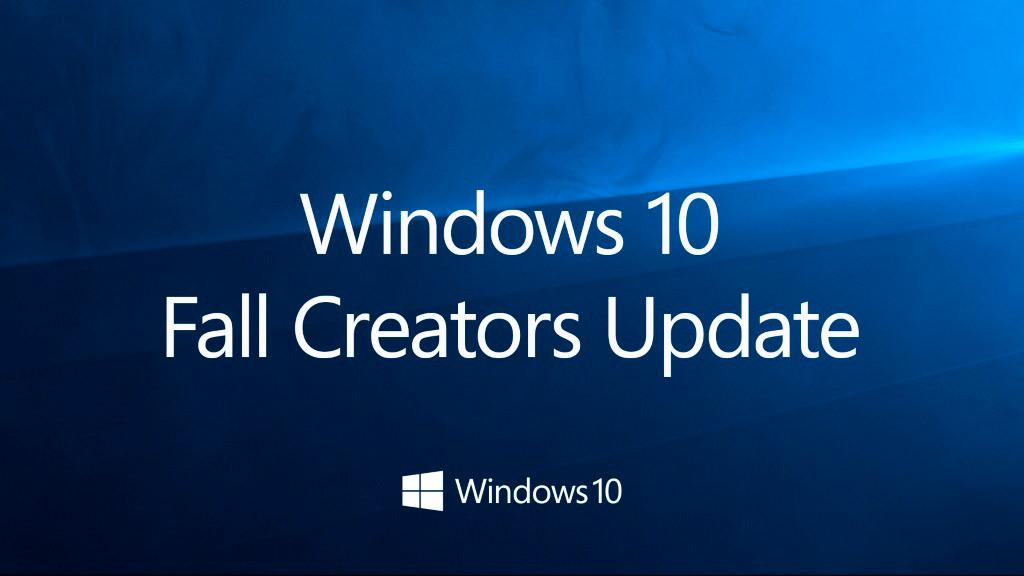 windows 10 fall creators update 17th october