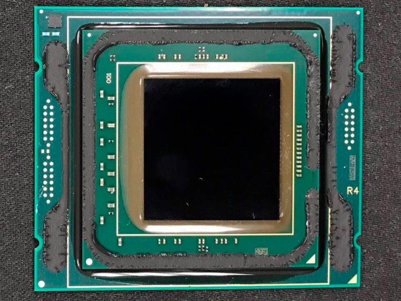 Intel Skylake X De8auer Scalp 2