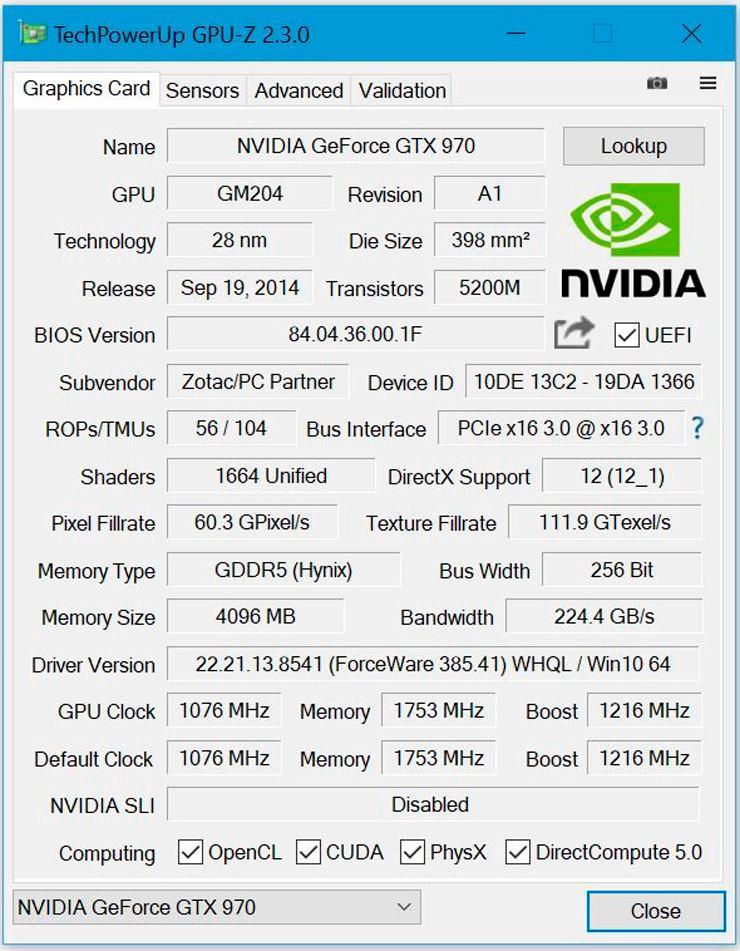 Techpowerup GPU Z 2.3.0