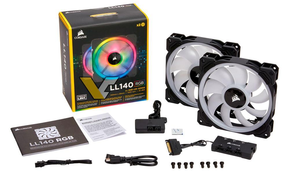Corsair LL140 LL120 RGB fans 4