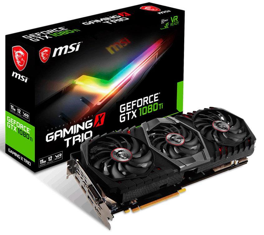 MSI поближе представила GTX 1080 Ti Gaming X Trio