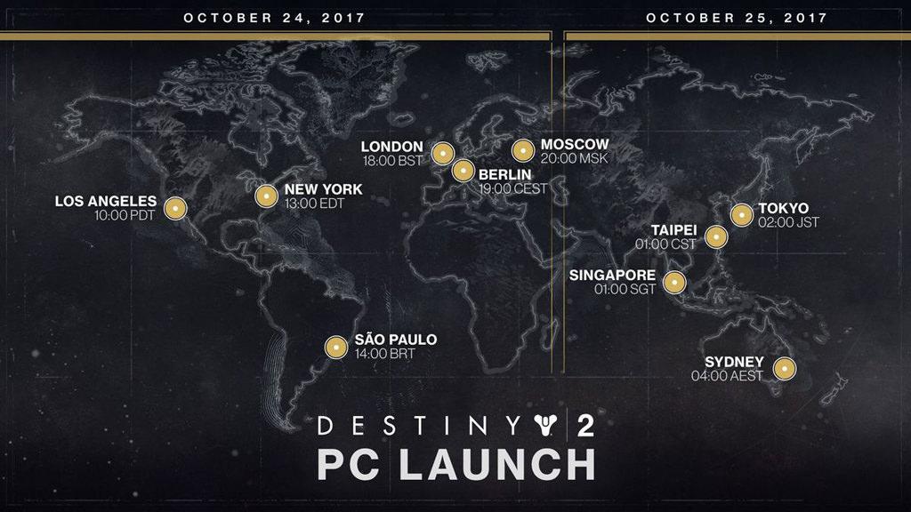 destiny2 pc launch time 2