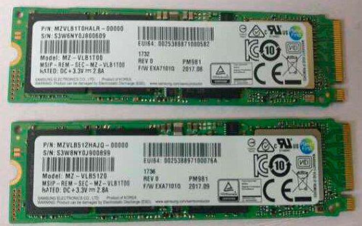 Samsung PM981 2