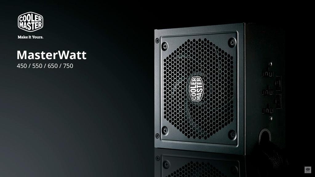 Cooler Master представила серию блоков питания MasterWatt