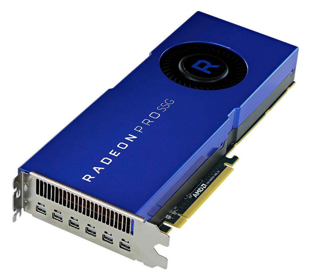 AMD Radeon PRO SSG намного ближе, чем кажется