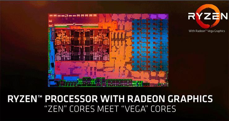 AMD Ryzen 7 2700U Ryzen 5 2500U 1