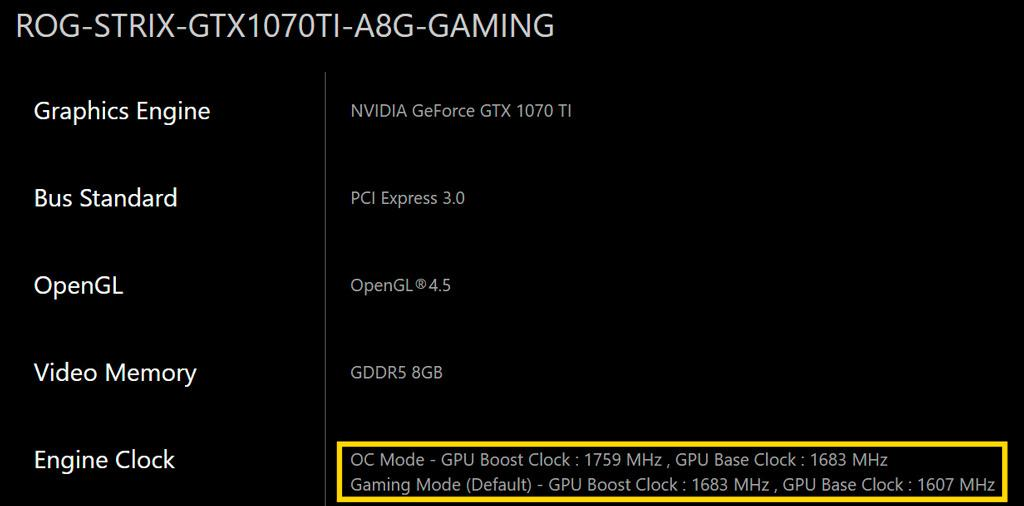 NVIDIA GeForce GTX 1070 Ti 3