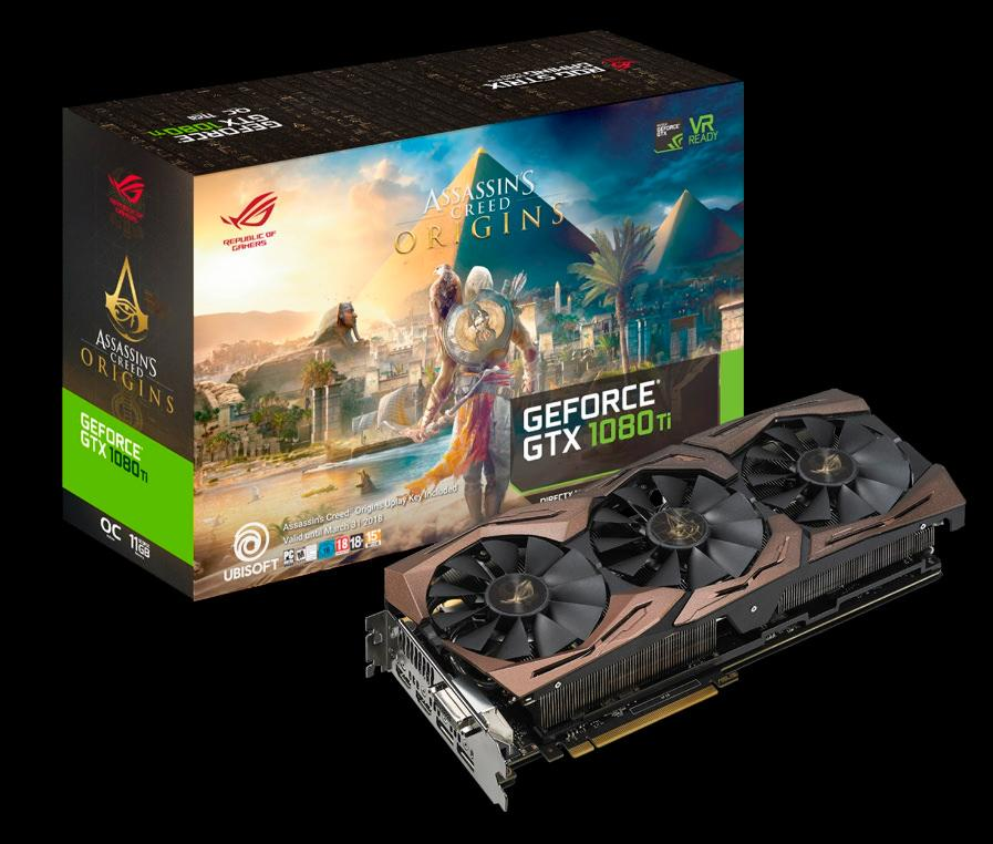 ASUS ROG Strix GeForce GTX 1080 Ti Assassins Creed 5