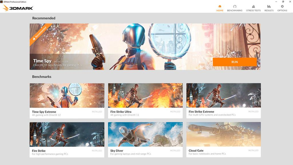 3DMark Time Spy Extreme 1